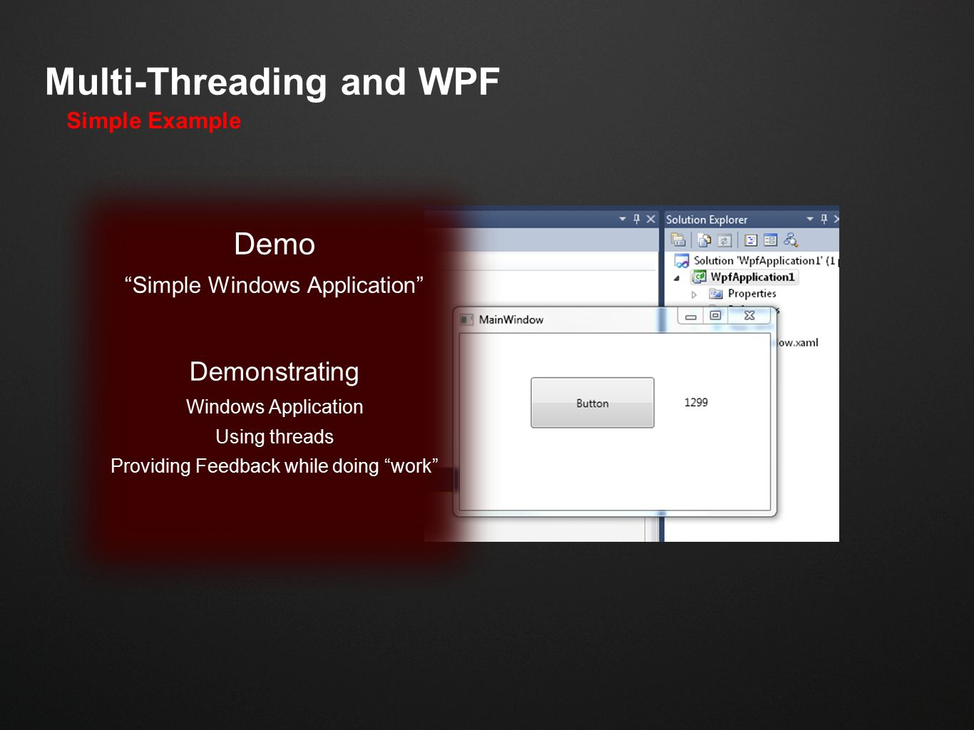Multi-Threading WPF Inside of AutoCAD - ppt video online download