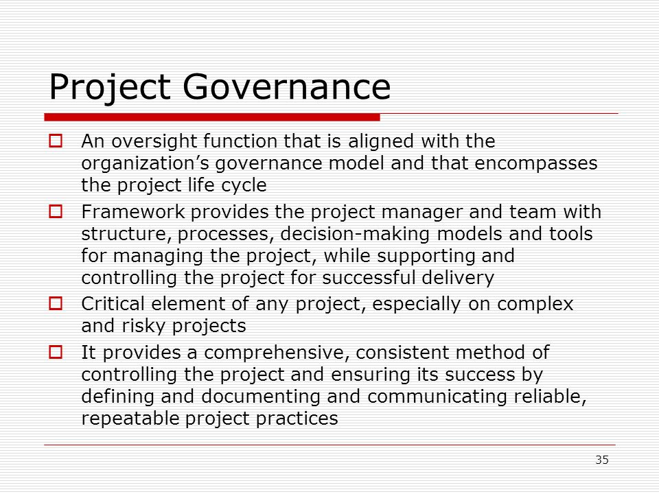 Project Governance Framework Template Images - Template Design Ideas