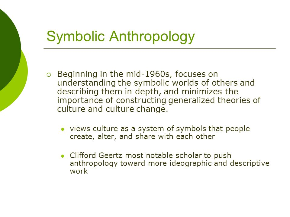 Chapter 11 Theory In Cultural Anthropology Ppt Video Online Download