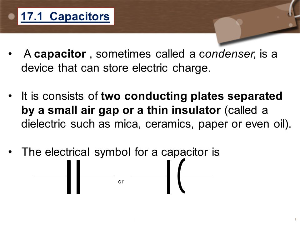 Chapter 17 Capacitor Dielectrics Pst 3 Hours Pdt 7 Hours