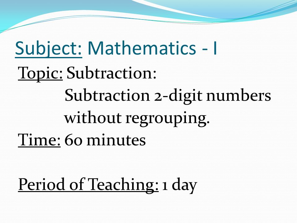 Lesson Plan in Mathematics - I - ppt video online download
