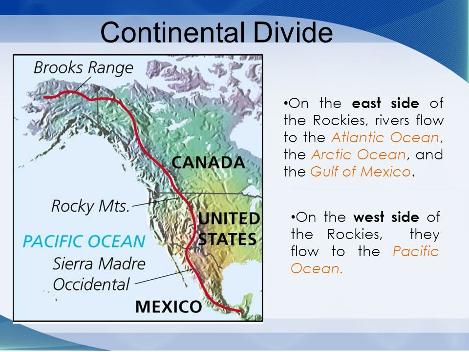 Chapter 4:The United States and Canada:Physical Geography ...
