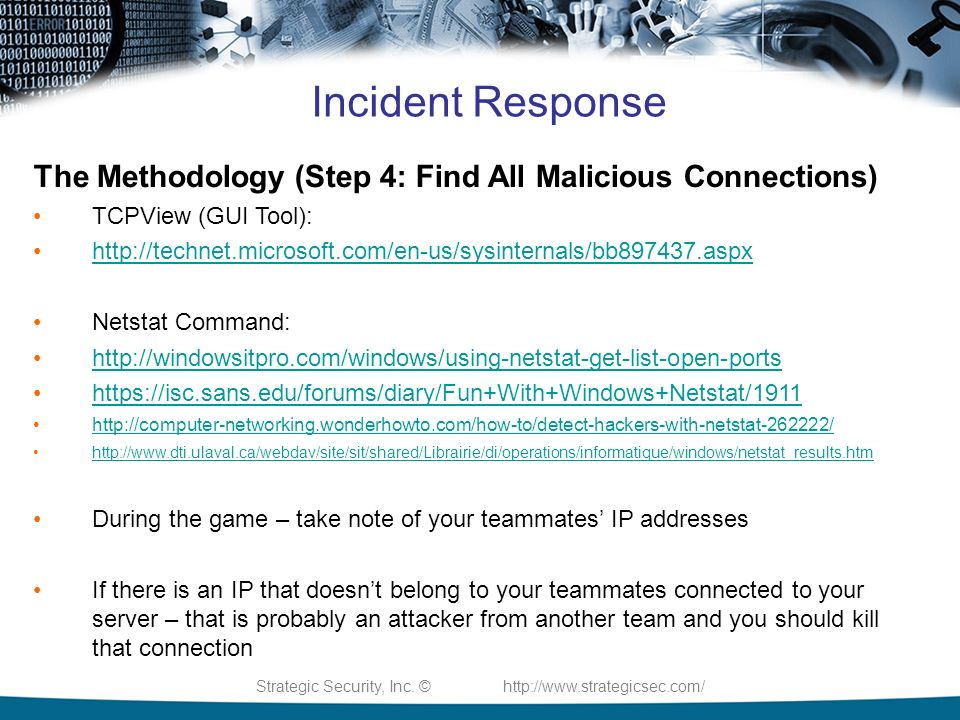 Preparing For The Strategic Security CTF - ppt video online download