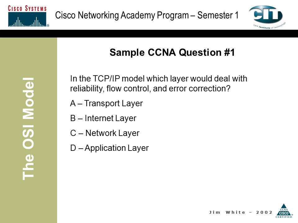 ccna sample test questions pdf