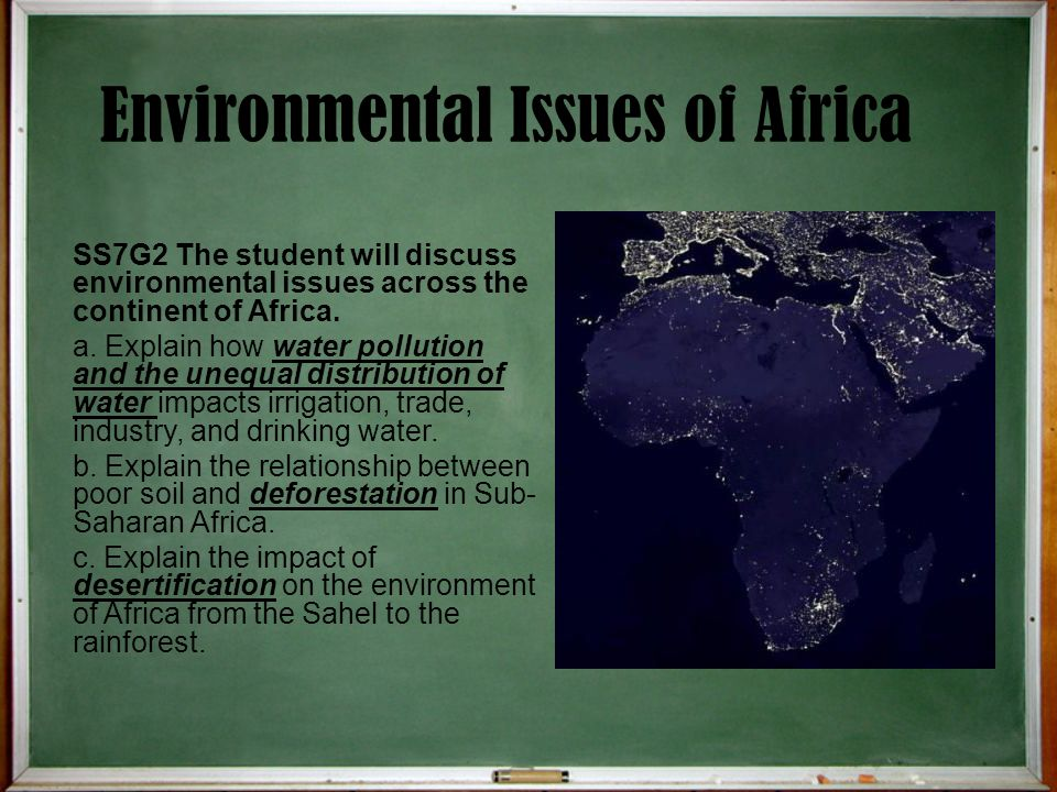 Environmental Issues of Africa