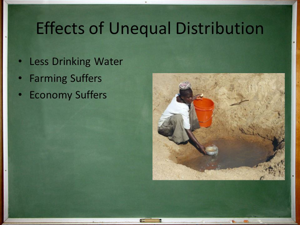 Effects of Unequal Distribution