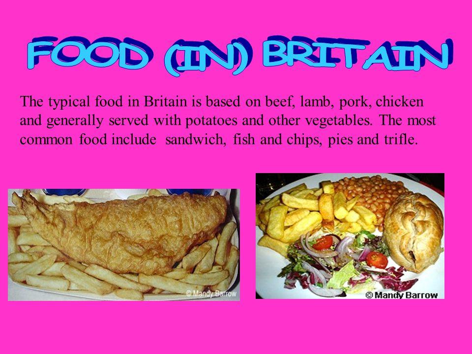 British Food Wanda And Sandra 4c Ppt Video Online Download