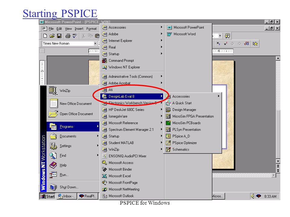 pspice student download windows 10