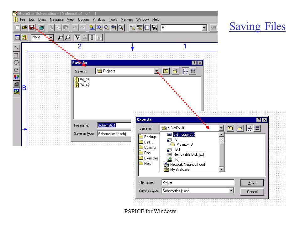 PSPICE – Windows Version - ppt download