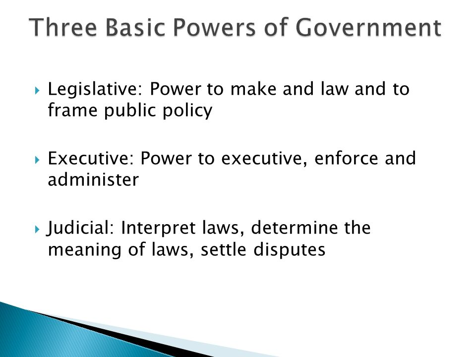 Aim: How do we examine the principles of Government and the State ...