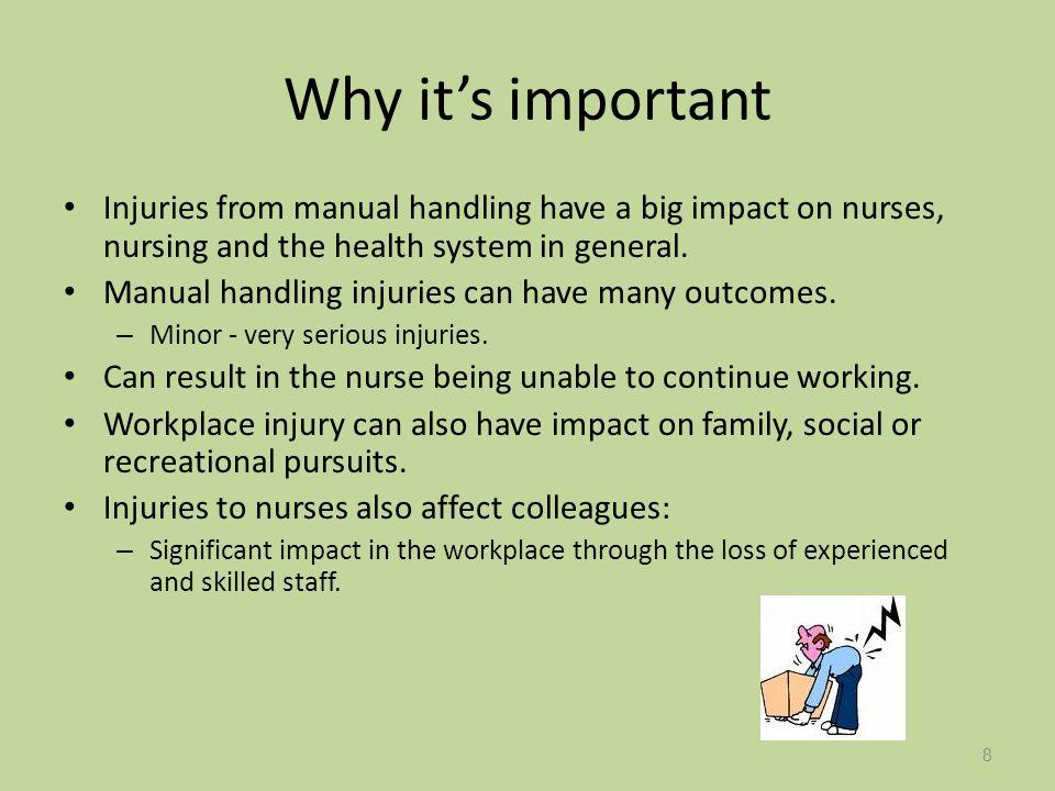 minimal handling transportation and client safety ppt download rh slideplayer com nursing manual handling nursing manual handling