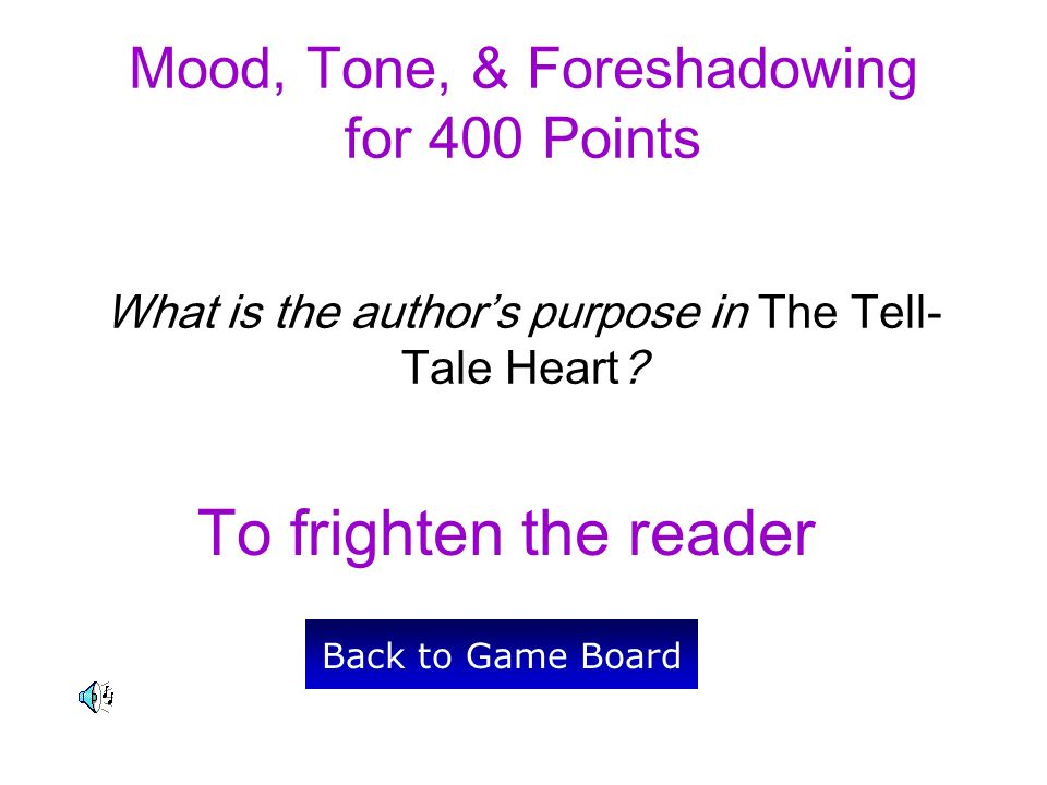 author of tell tale heart