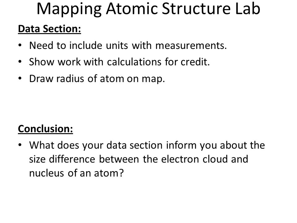 ChemI Block : Due: Atomic Structure Ranking Task Worksheet - ppt ...