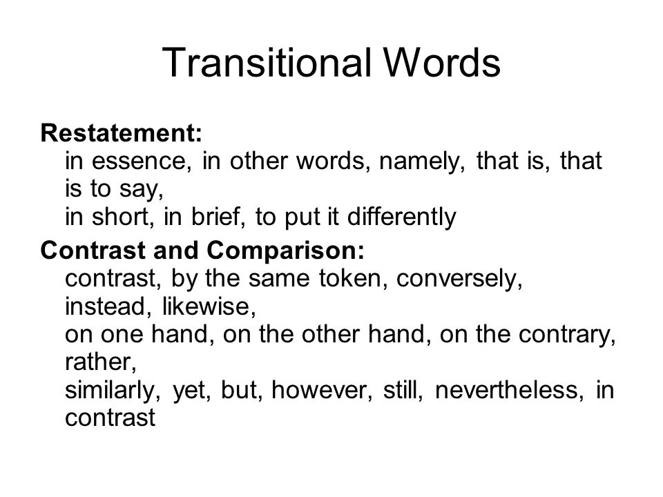 dacfe6f08c Transitional Words You can add transitional words to writing. This ...