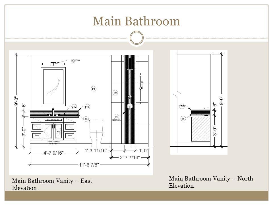 Main Bathroom Vanity North East