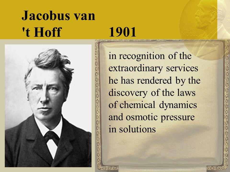 The nobel prize in chemistry 2017.
