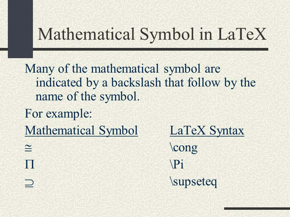 Latex By Wen Ying Gao Ppt Video Online Download