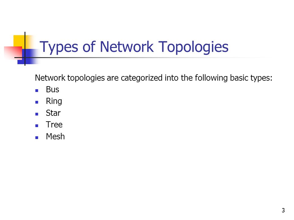 Network Topologies  - ppt video online download