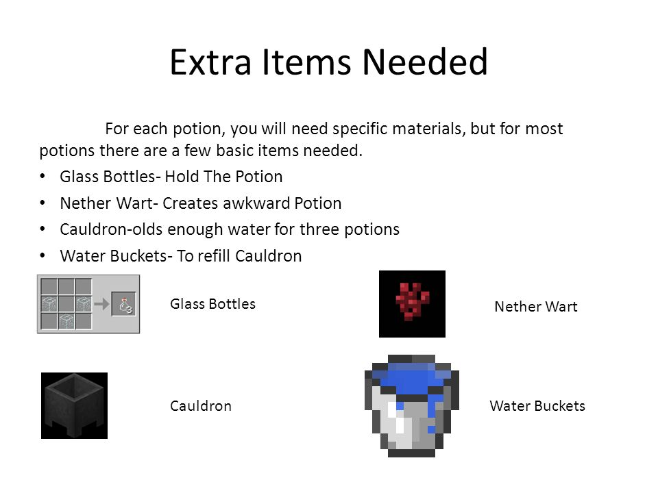 Minecraft Potion Guide Ppt Video Online Download