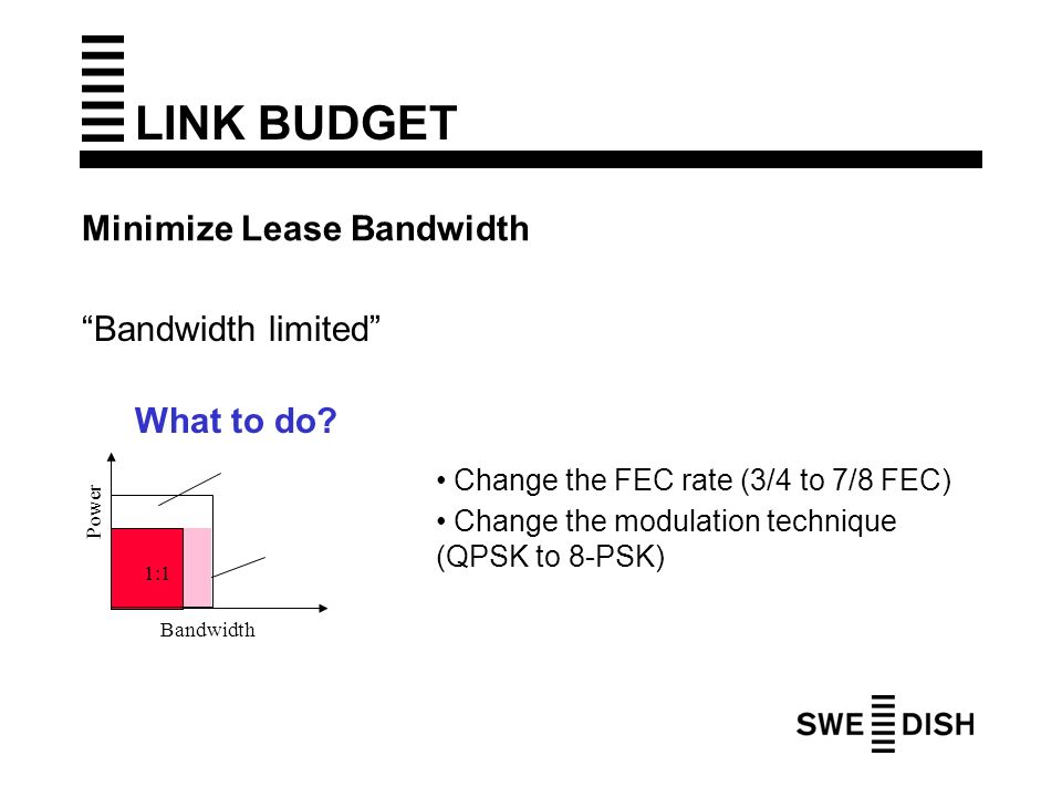 link budget 1 satellite communication lecture # 9 link budget link budget introduction overall design of a complete satellite communications system involves many complex trade-offs to obtain a cost.