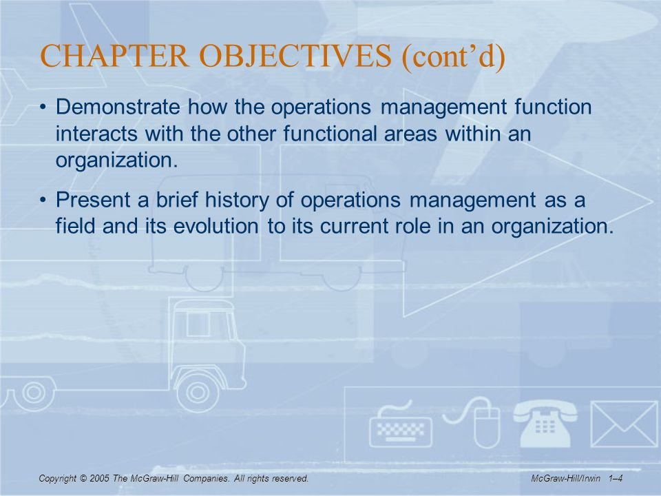 brief history of operations management
