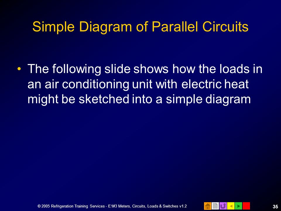 Simple Diagram of Parallel Circuits