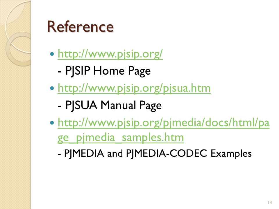 PJSUA – A command line SIP user agent - ppt video online download