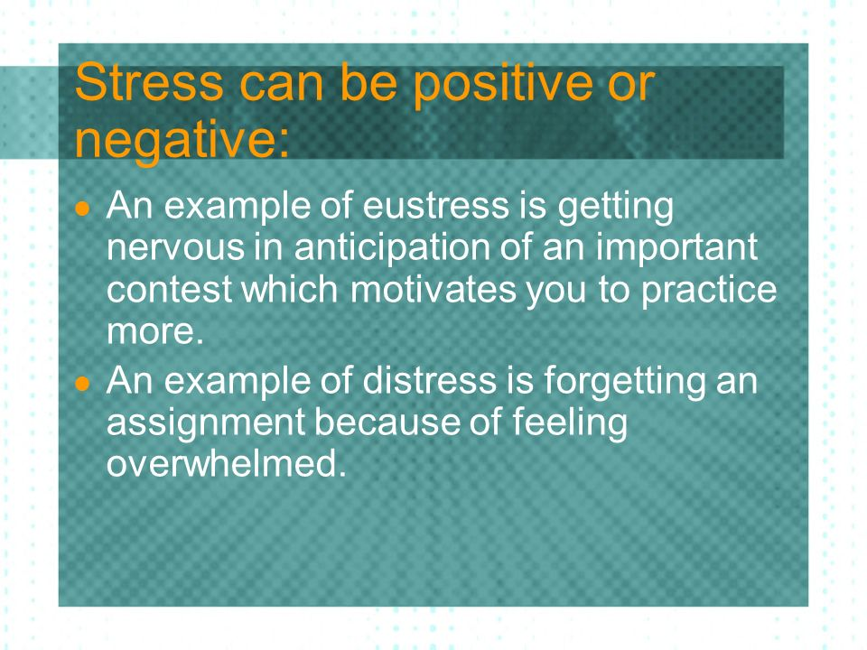 Stress Cause And Effect Ppt Download