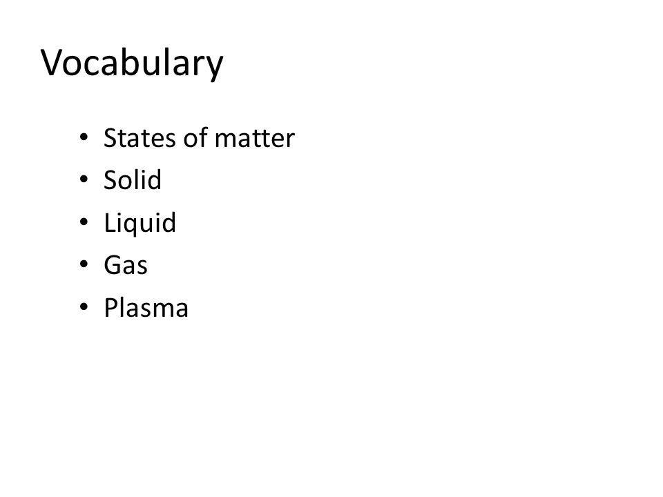 Chapter 4 States Of Matter Ppt Download