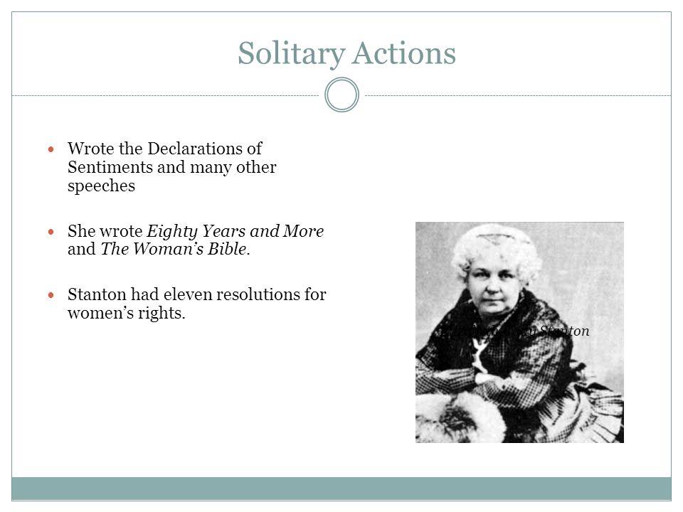 Elizabeth Cady Stanton - ppt video online download