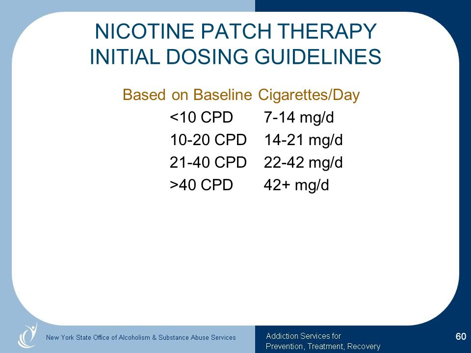 Papersnicotine nasal spray with nicotine patch for smoking.