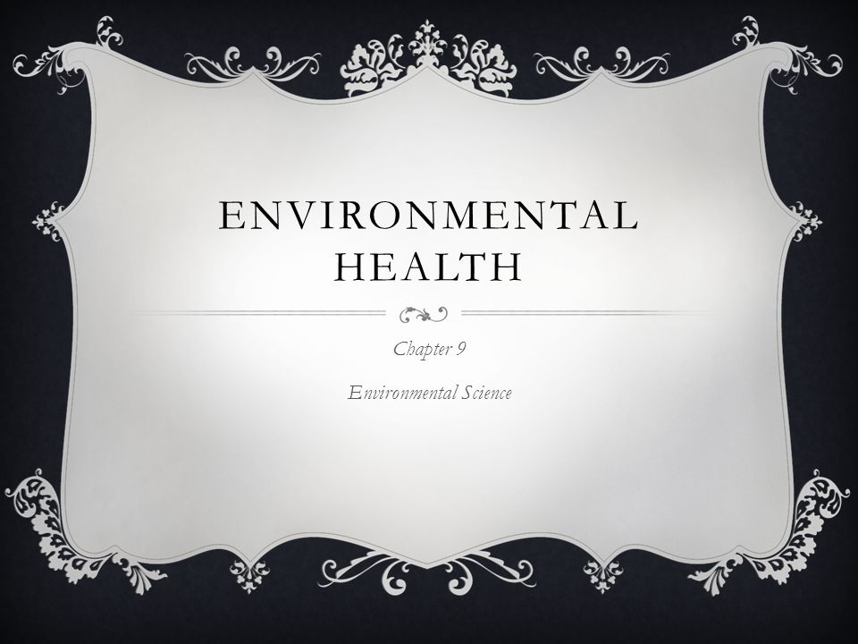 Chapter 9 Environmental Science Ppt Download
