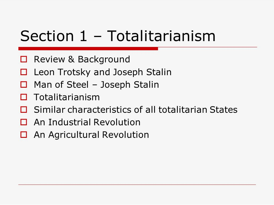 30.2 totalitarianism case study stalinist russia notes
