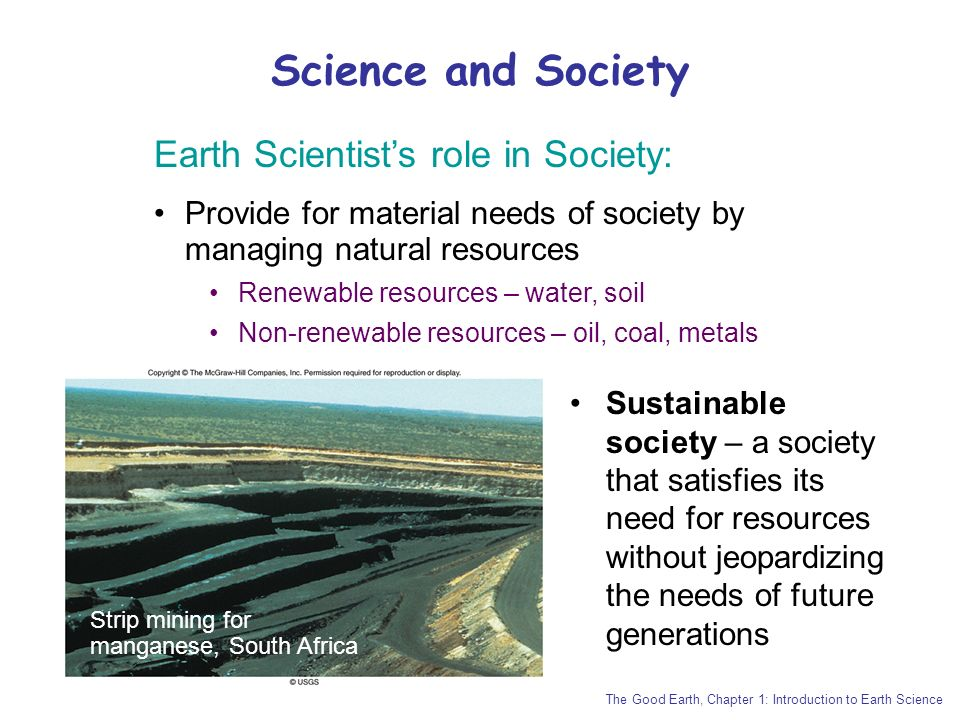 the good earth introduction to earth science pdf