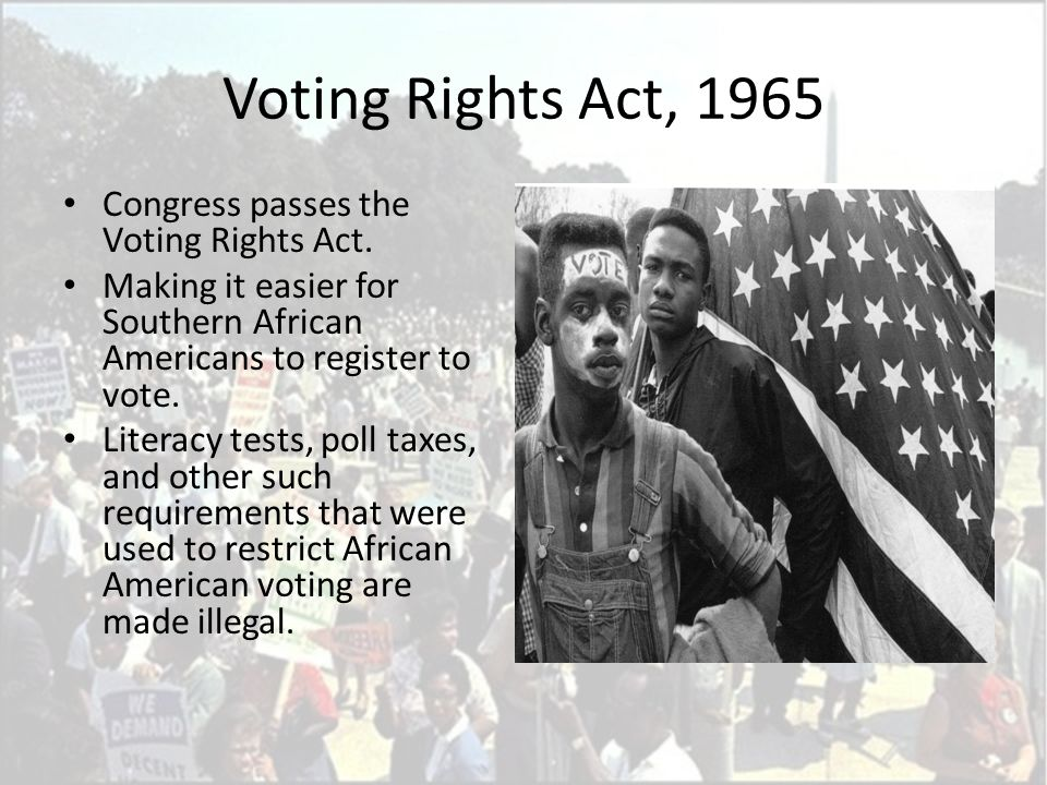 Civil Rights African Americans Ppt Download