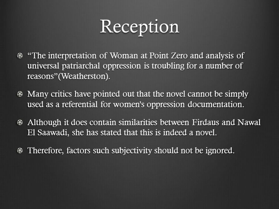 woman at point zero analysis