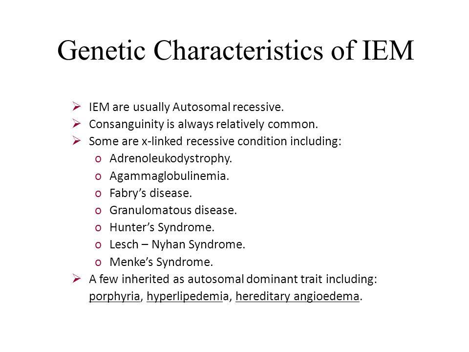 inborn characteristics