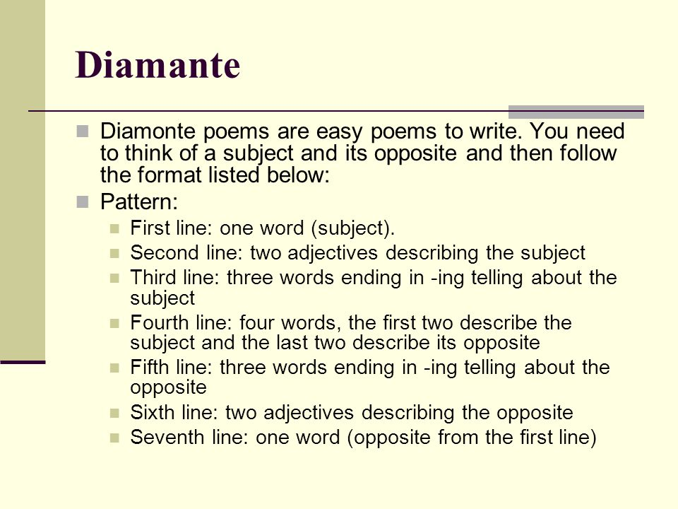 easiest poems to write If you feel ready to create a rhymed poem, refer to chapters 6-10 of stephen minot's bookthree genres: the writing of poetry, fiction, and drama 6 th ed, for more help tip #10 revise, revise, revise.