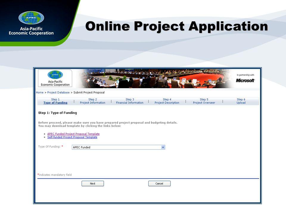 APEC Project Database  - ppt download