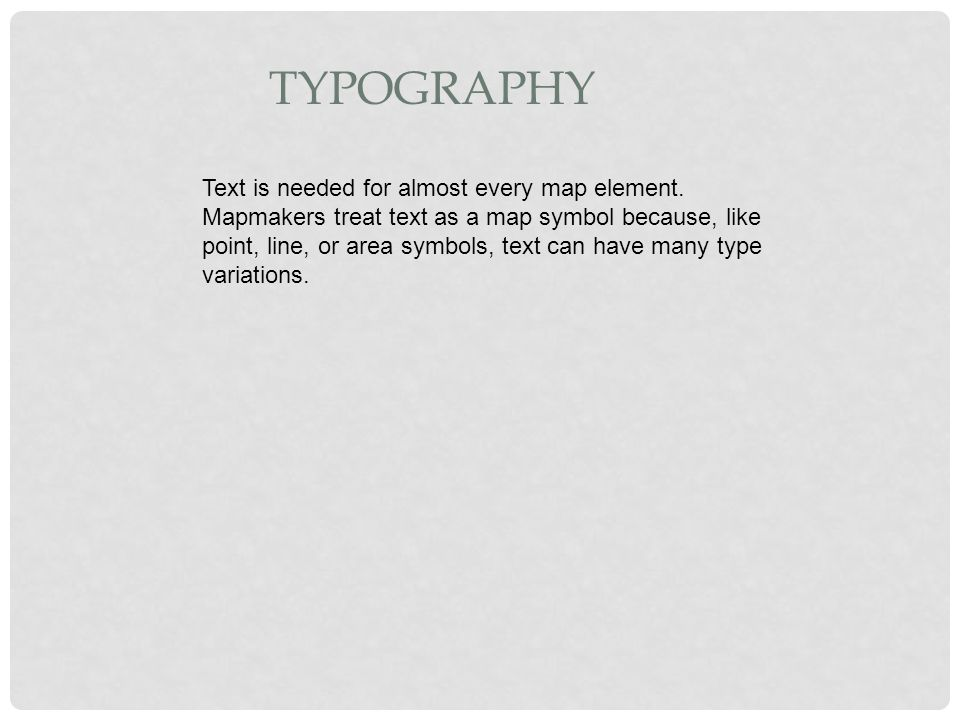 Chapter 9 Data Display And Cartography 91 Cartographic