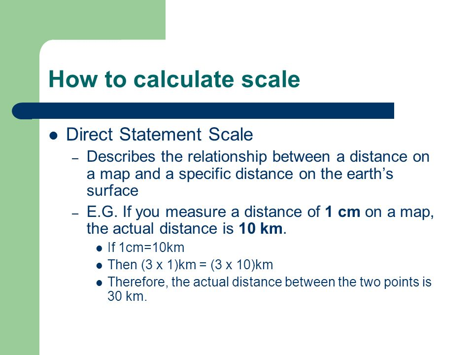 Mapping to Scale. - ppt video online download