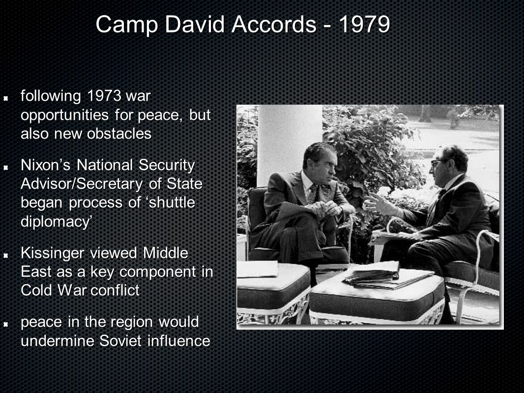 camp david accords text