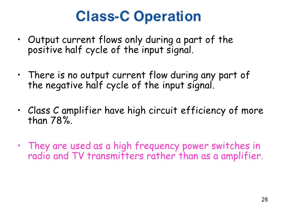 Output stages & Chapter ppt video online download