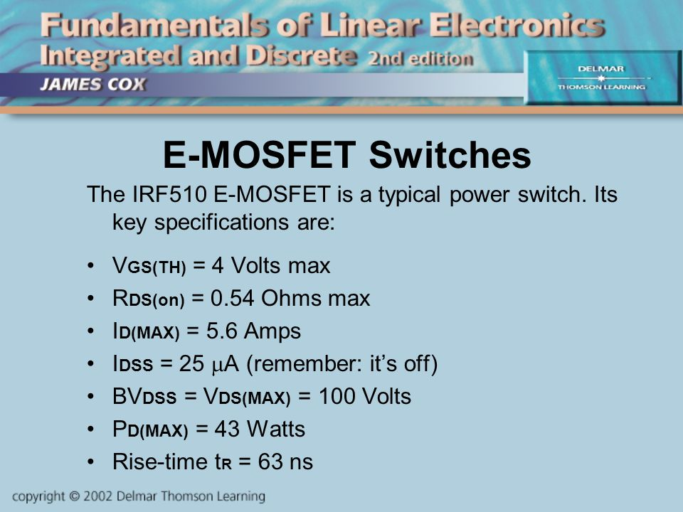 CHAPTER 8 MOSFETS  - ppt video online download