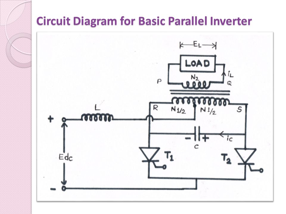 Inverter Circuit Diagram | Inverter Ppt Download