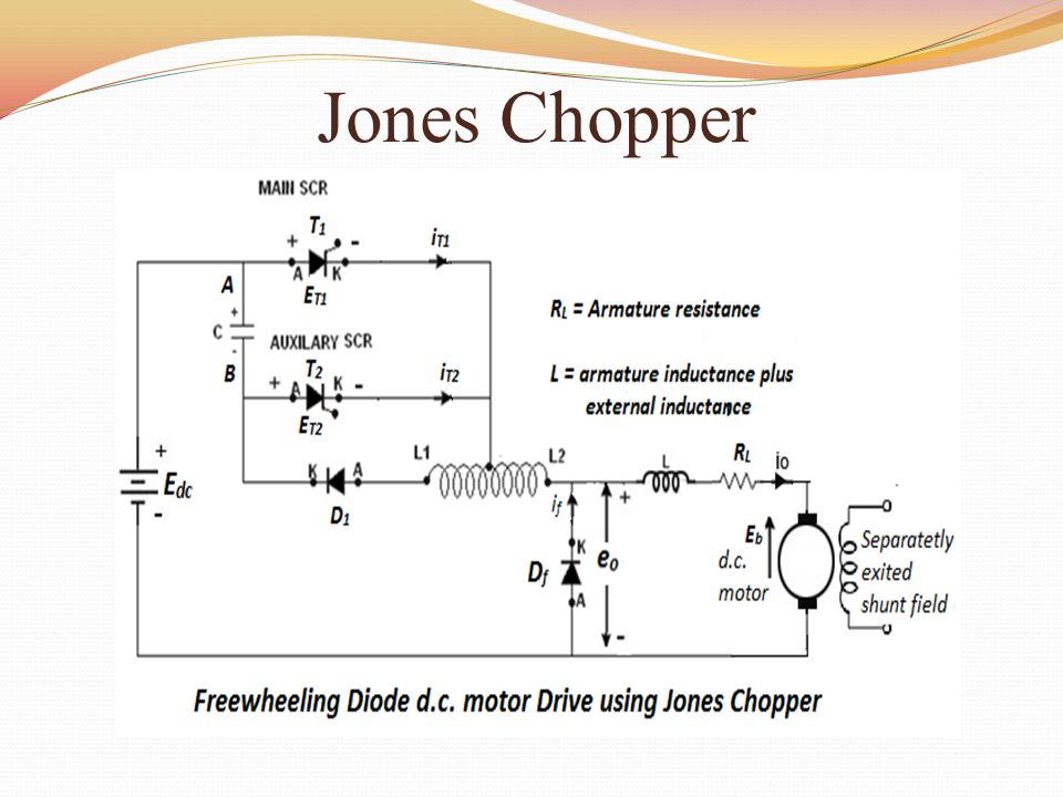 circuit diagram jones chopper online schematic diagram u2022 rh muscle pharma co Step Down Chopper DC to DC Chopper