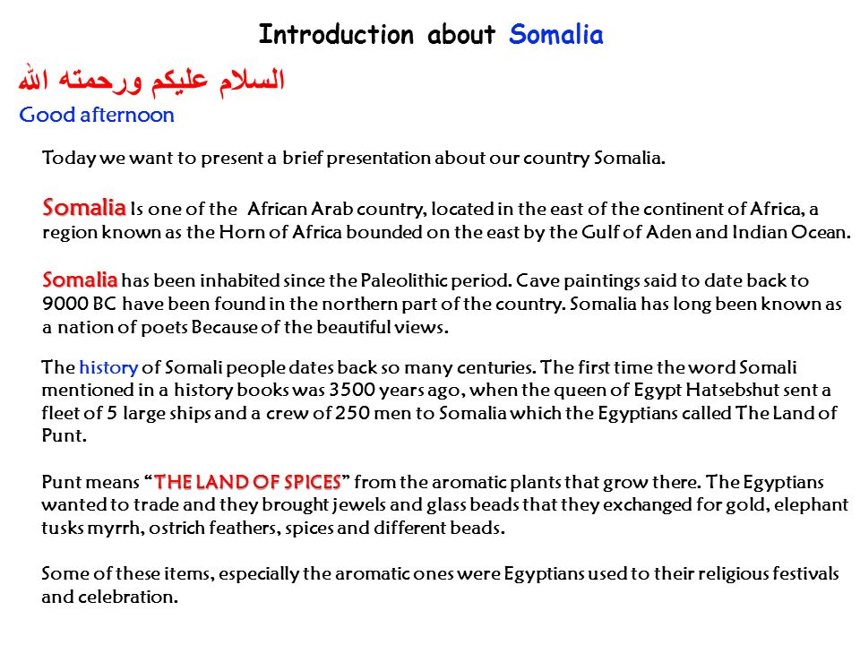 Presentation about somalia ppt download introduction about somalia m4hsunfo