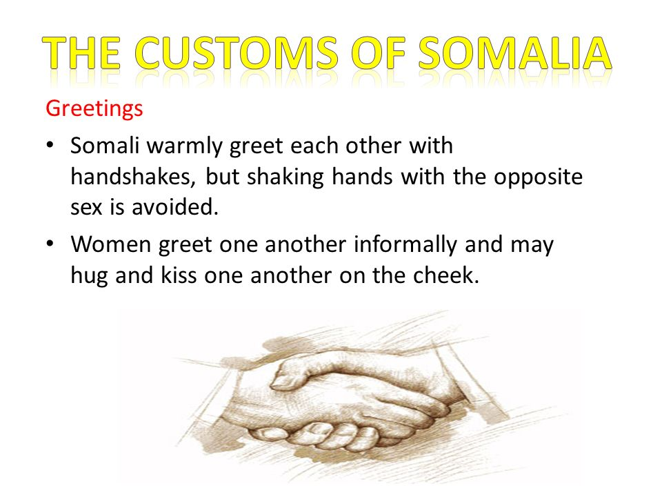 Presentation about somalia ppt download the customs of somalia greetings m4hsunfo