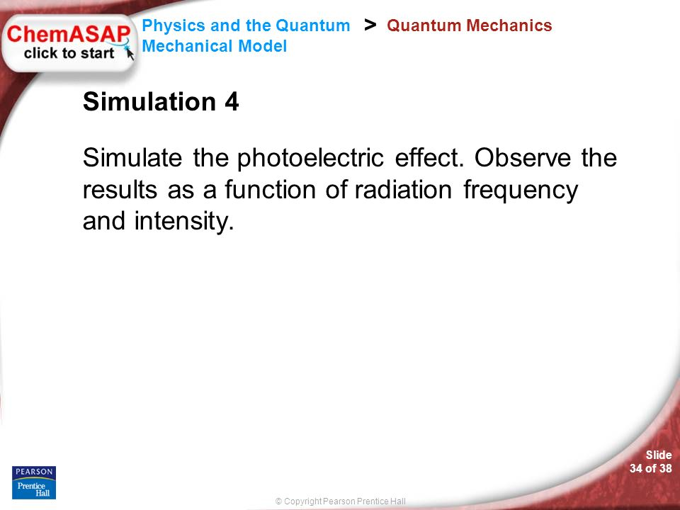Quantum Mechanics Simulation 4. Simulate the photoelectric effect.
