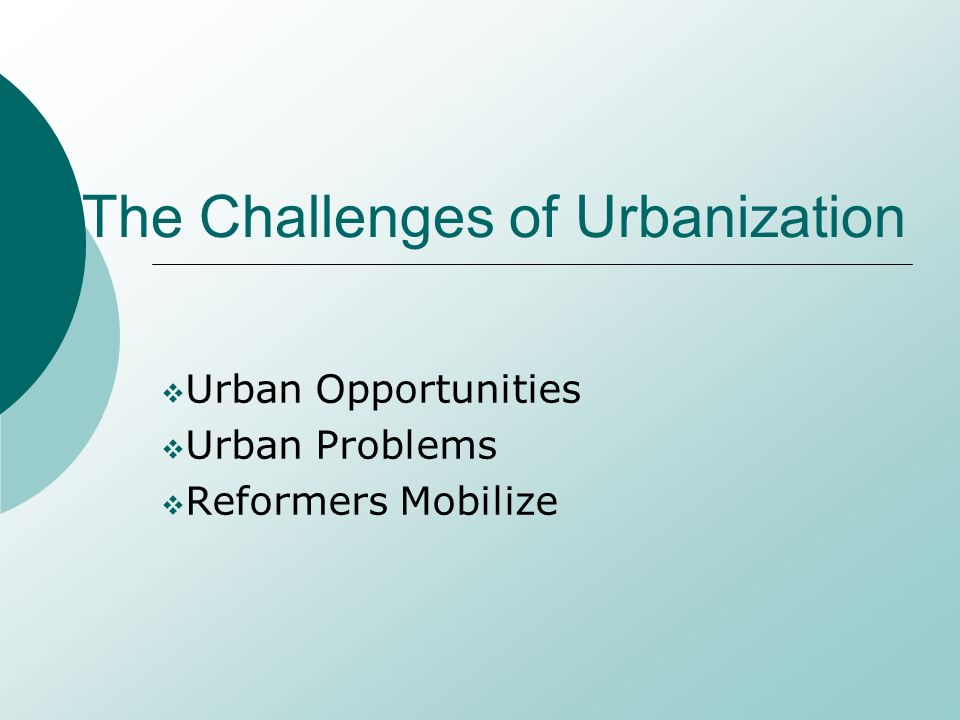 urbanization problems Urbanization may be considered a problem due to the exploitation ofnatural resources trees are cut down and forests are flattened forurbanization.